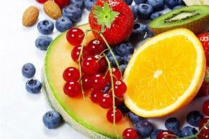 beneficios según el color de los alimentos