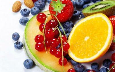 Beneficios de los alimentos según su color